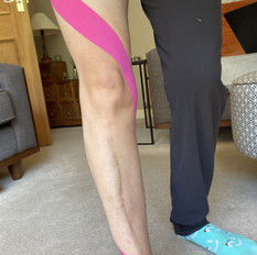 Dynamic Postural Taping - Leg Spiral