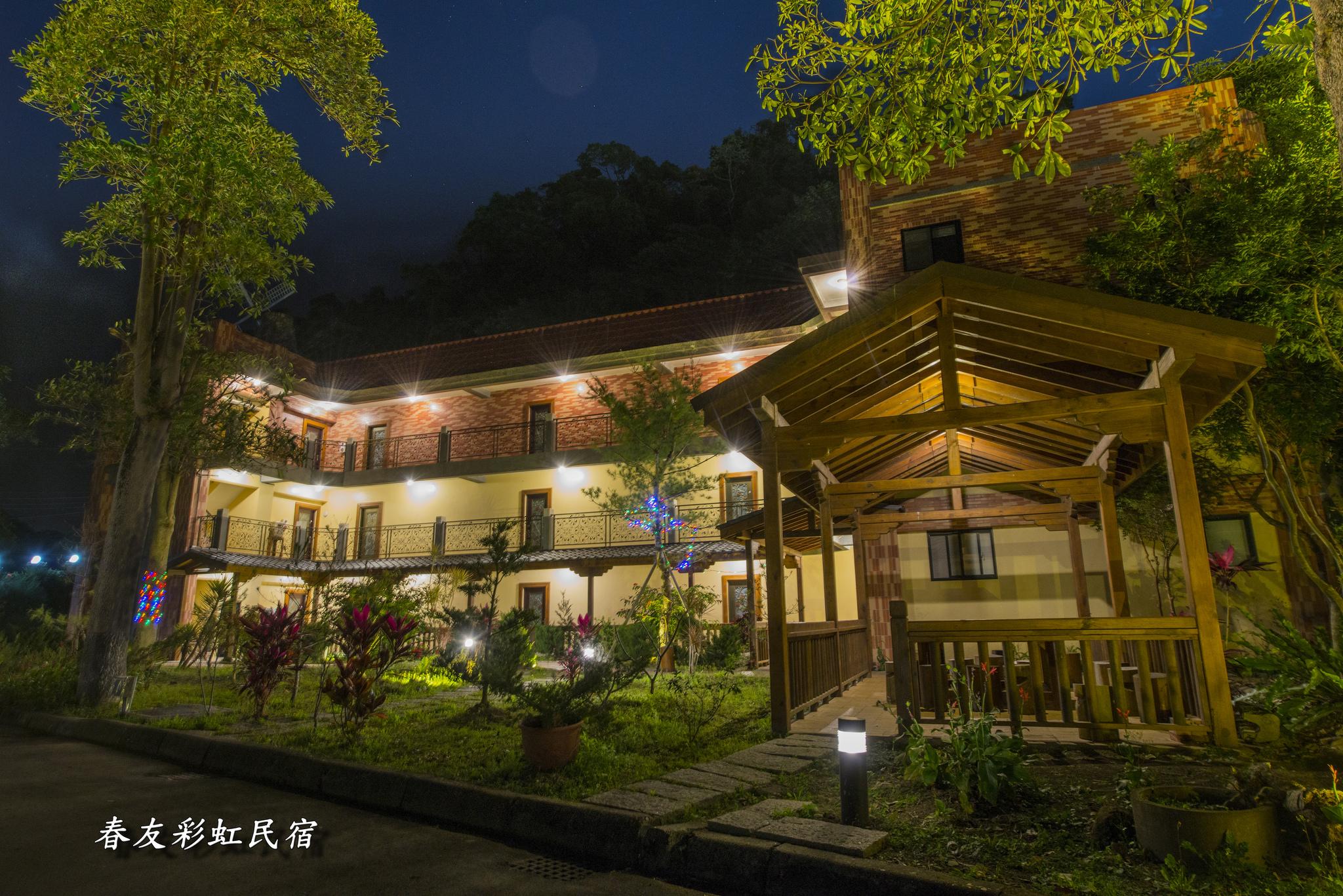 楓香四人夜景