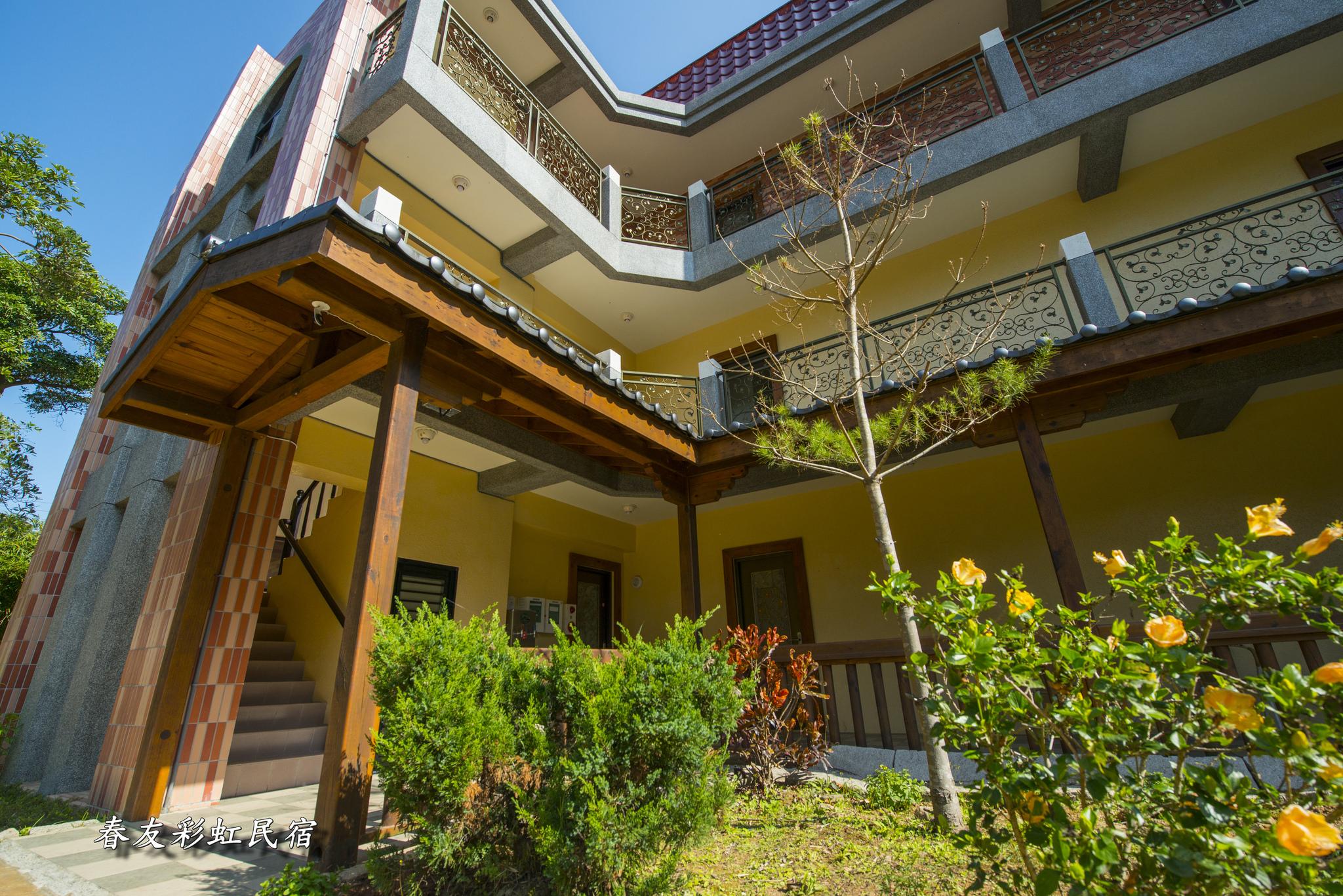 楓香4人房建築外觀