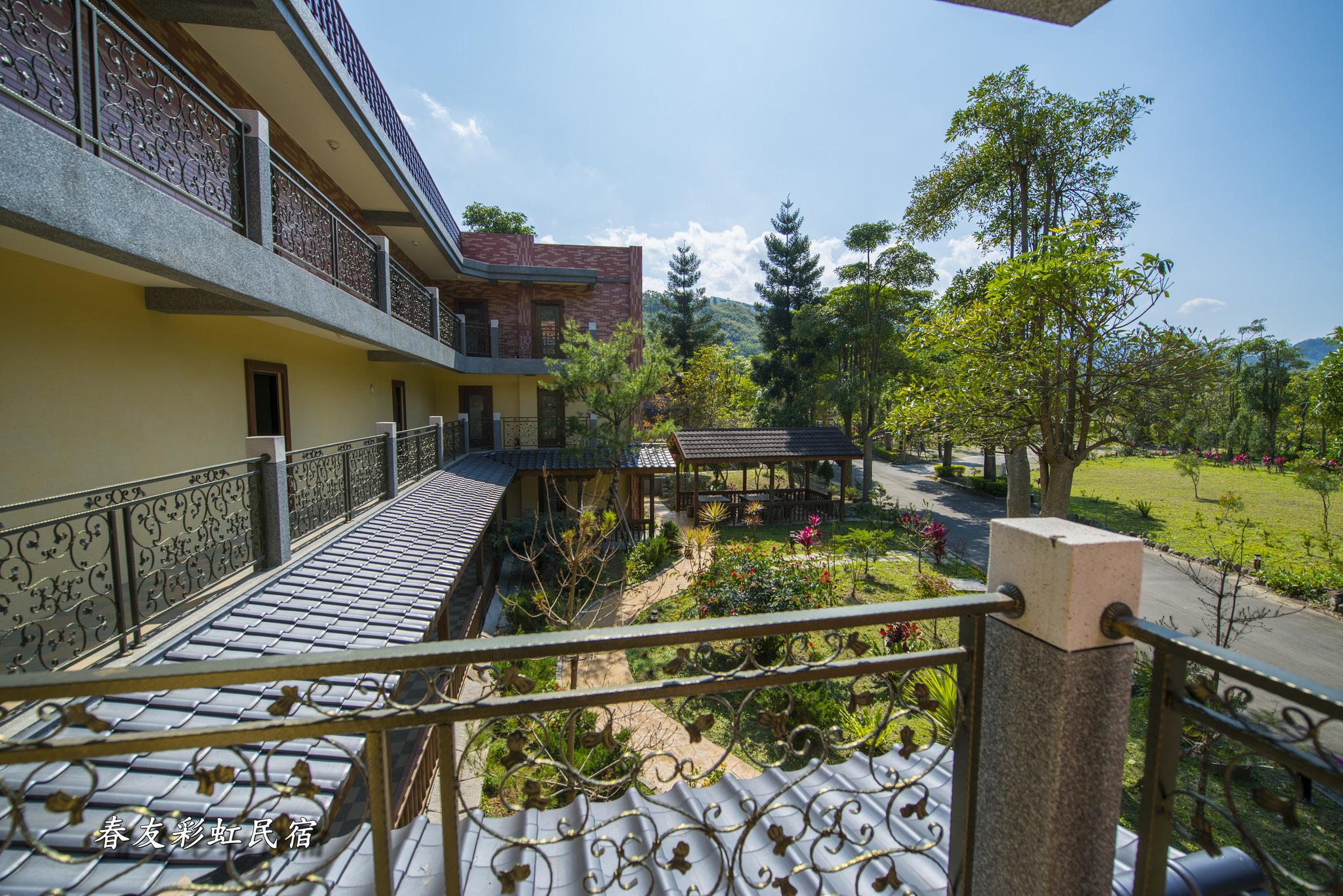 楓香四人園景