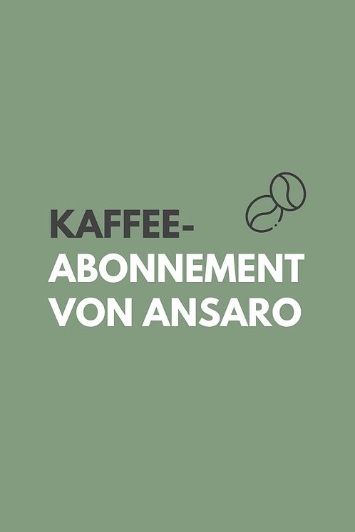 Kaffee-Abonnement