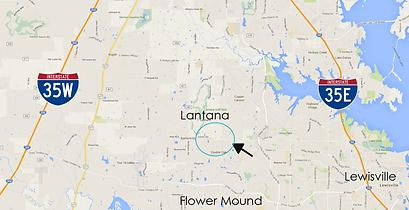 Map Innergetic Awakenings Lantana