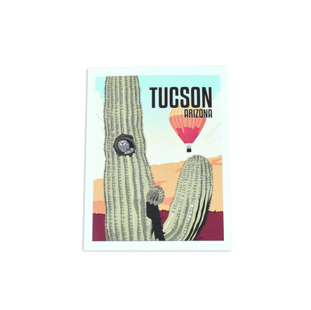 Tucson Owl Note Card