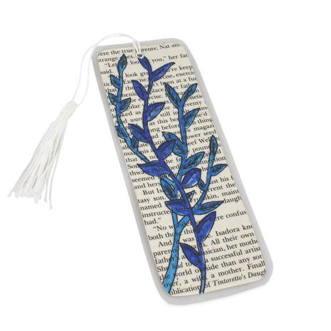 Blue Bookmark