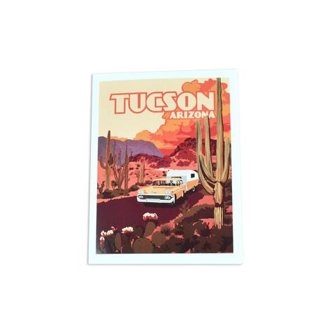 Tucson Camper Note Card