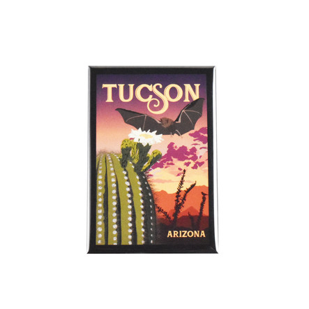 Tucson Bat Magnet