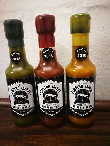Sriracha Sauces produced in South Africa