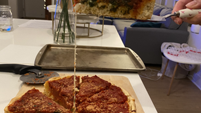Chicago-Style Deep Dish Pizza!