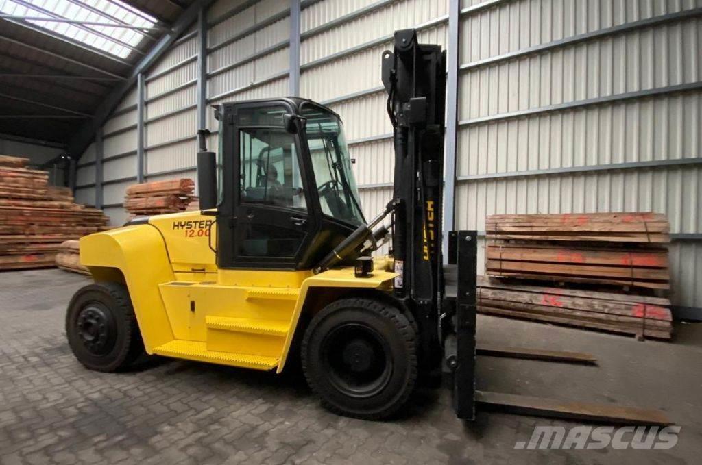 Hyster viljuškar 12000 kg nosivosti, BROJ TT904