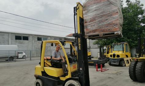 Hyster viljuškar 3500 kg nosivosti , broj 203