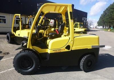 Hyster viljuškar 5500 kg nosivosti broj 209