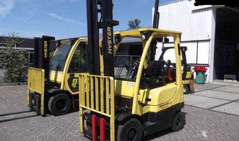 Hyster viljuškar 1600 kg nosivosti, broj TT852