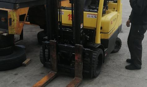 Hyster plinski viljuškar 3500 kg nosivosti