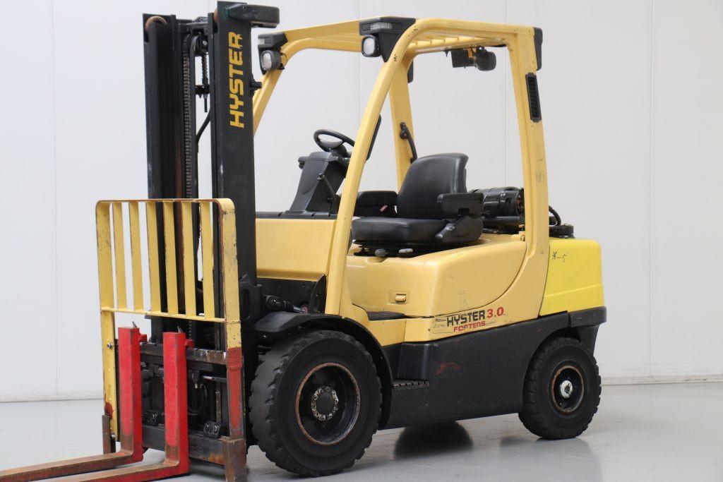 Hyster plinski viljuskar 3000 kg