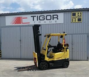 Hyster plinski viljuškar 2500 kg nosivosti