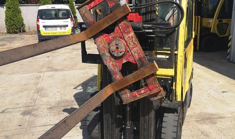 Hyster viljuškar sa rotatorom
