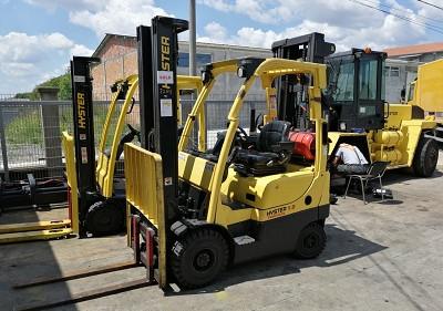 Hyster plinski viljuškar 1800 kg nosivosti