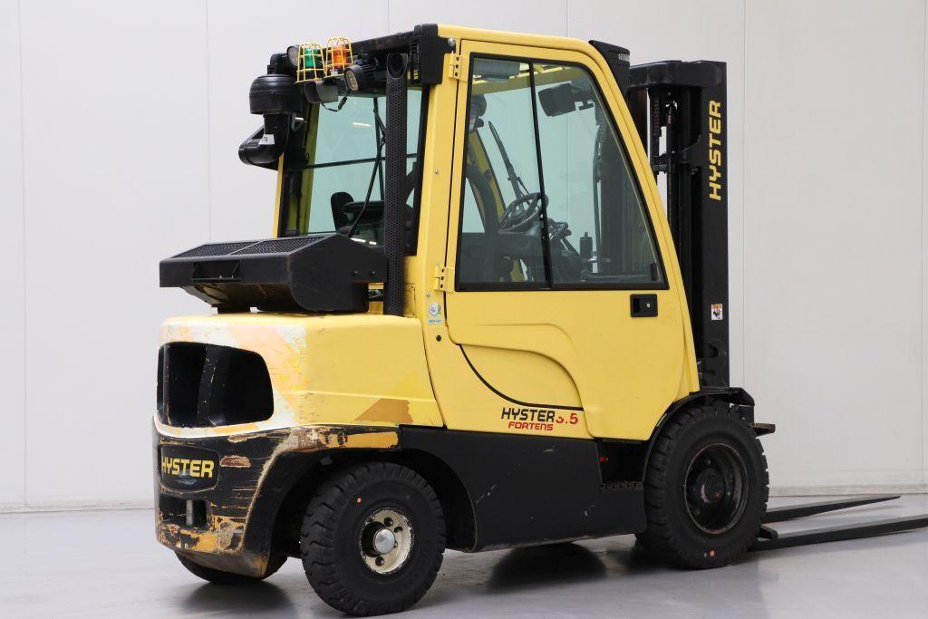 Hyster viljuškar sa kabinom 3500 kg nosivosti