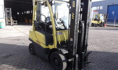 Hyster dizel viljuškar 2500 kg nosivosti, BROJ TT919