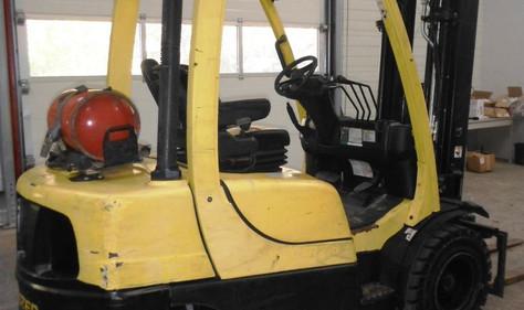 Hyster viljuškar 2500 kg nosivosti, BROJ TT893