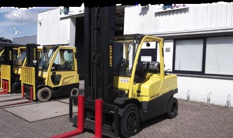 Hyster plinski viljuškar 5000 kg nosivosti