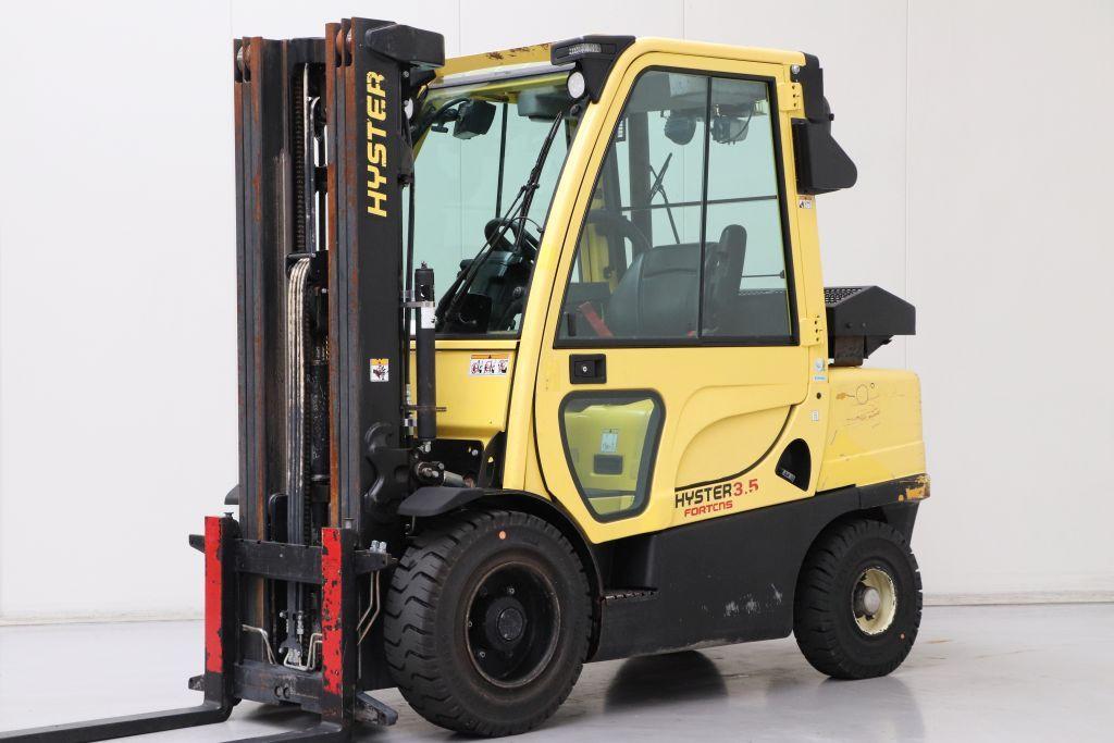 Hyster viljuškar 3500 kg nosivosti, BROJ TT912