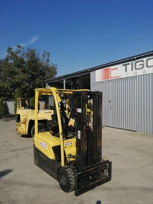 Hyster elektro viljuškar 1600 kg nosivosti, broj 186