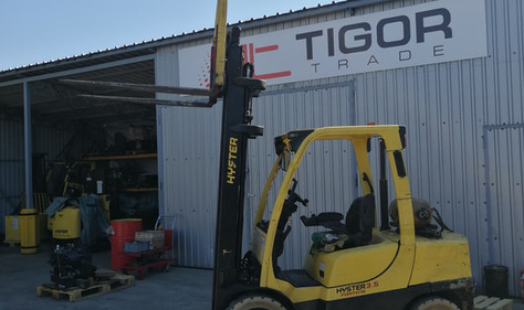 Hyster viljuškar 3500 kg nosivosti, BROJ 202