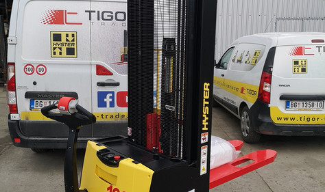 Hyster elektro staker 1600 kg