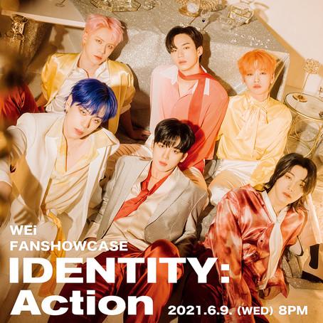 ショーケースイベント「IDENTITY : Action」、6月9日(水)20時よりLINE LIVEで生配信!