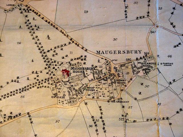 Map of Maugersbury Village - 1898.jpg