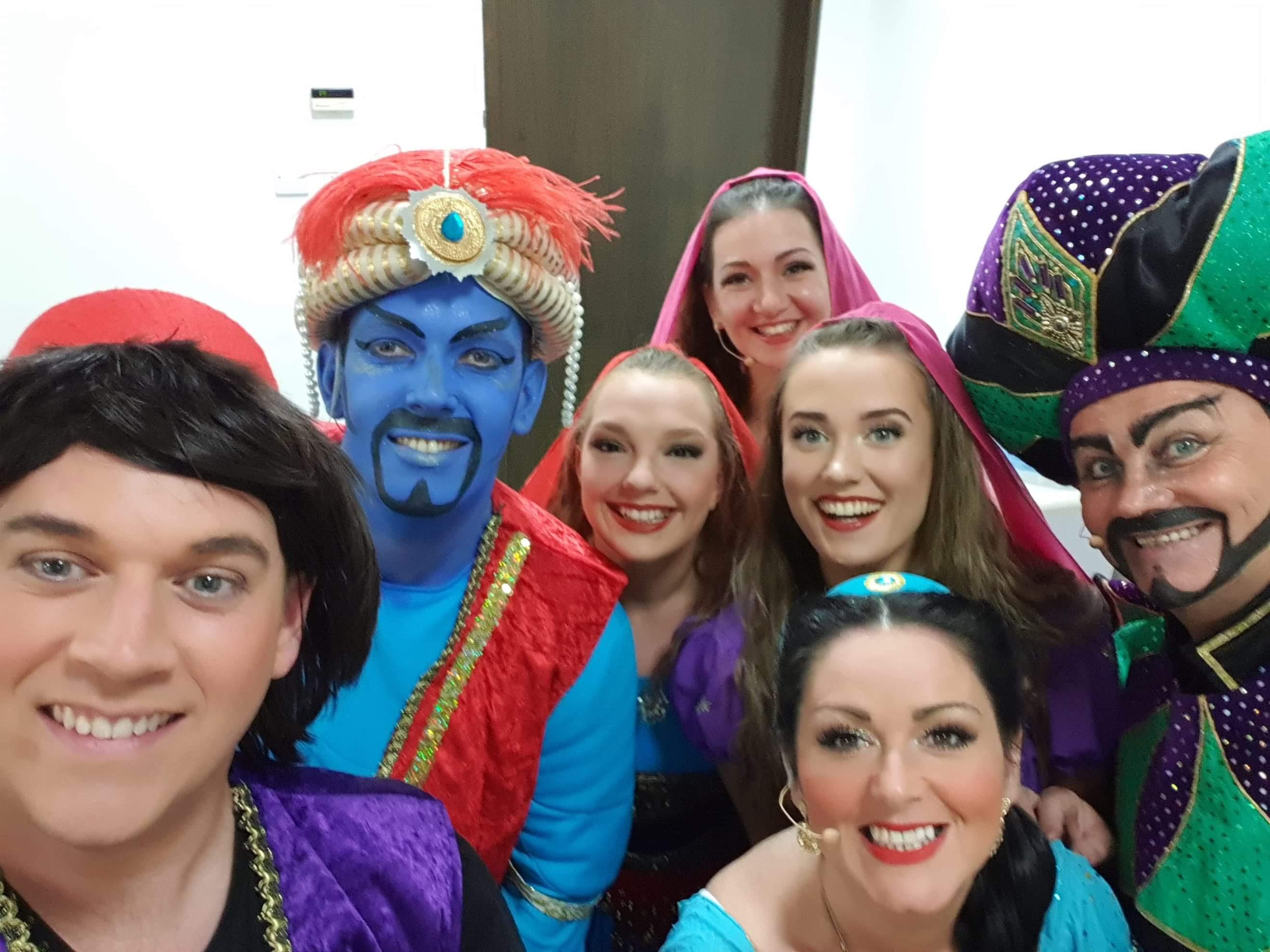 Aladdin Cast Oman 2019