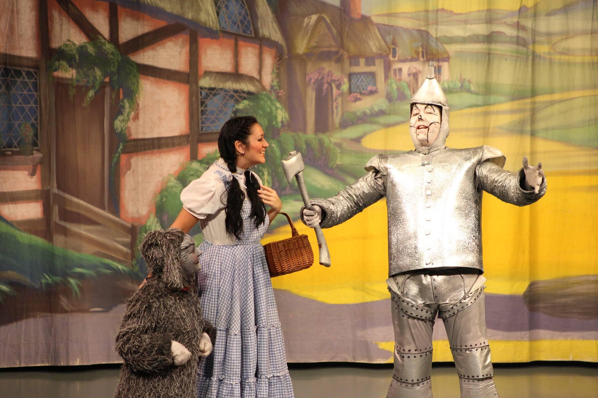 Dorothy, Tin Man & Toto
