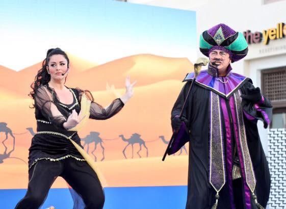 Aladdin Show - Jafar & Assistant