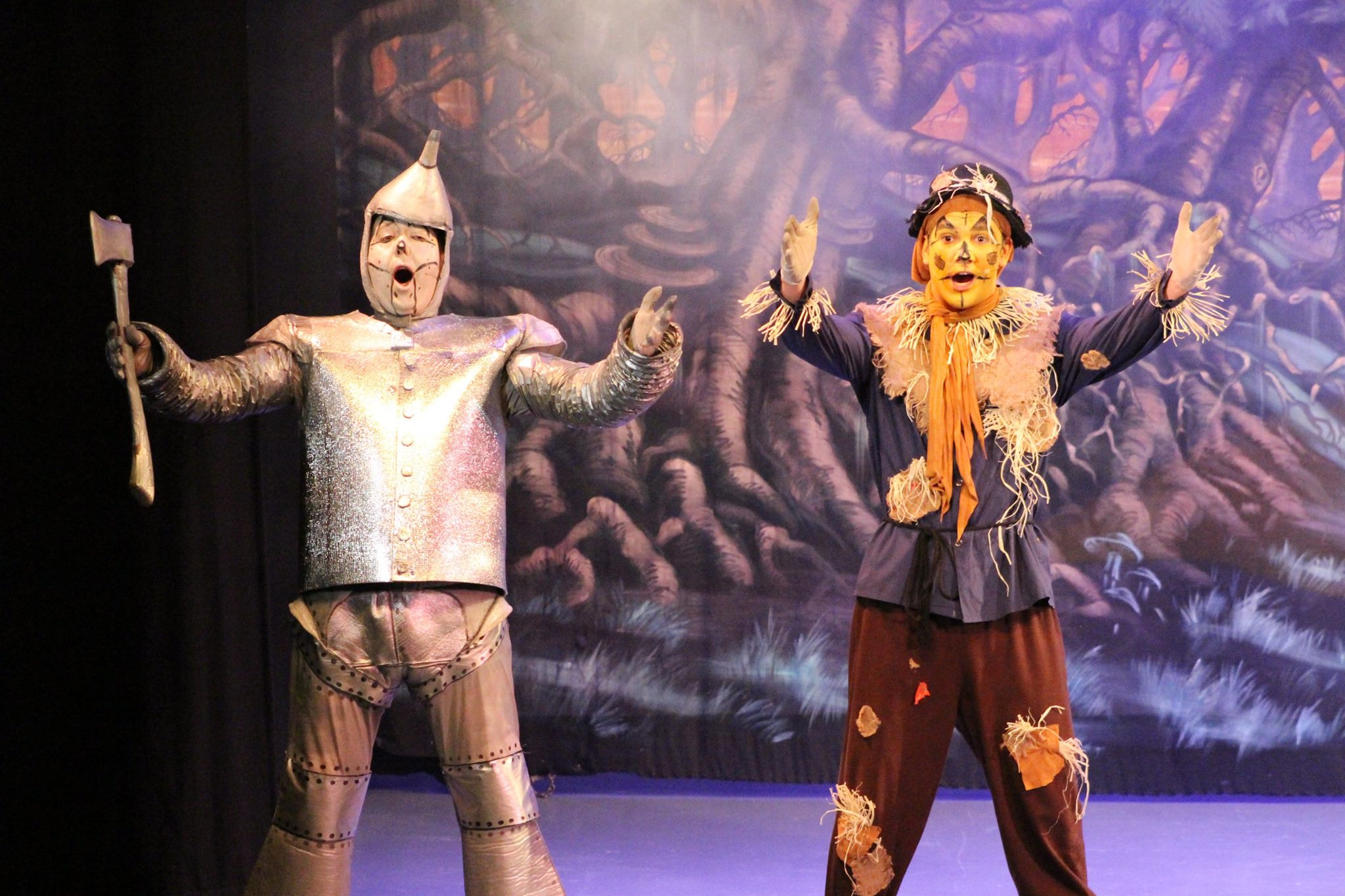 Tin Man & Scarecrow