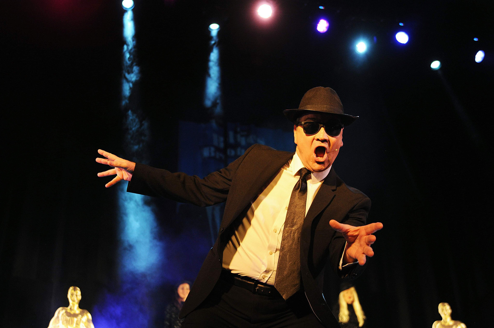 Blues Brothers Themed