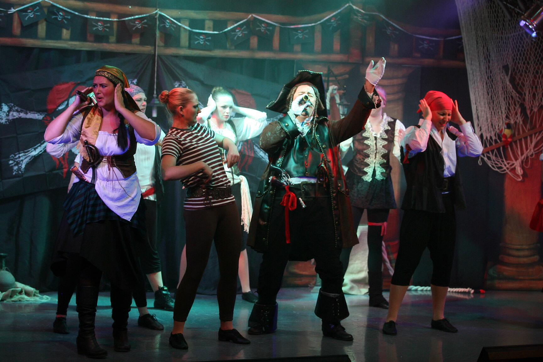 Pirate Adventure Stage Show Tour