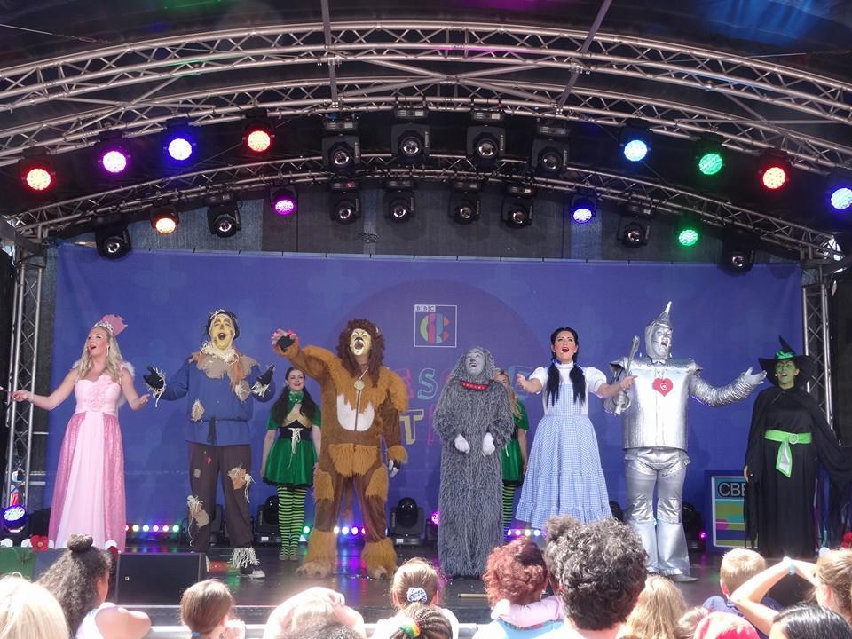Wizard Of Oz Cast - CBBC Awesome Authors Event