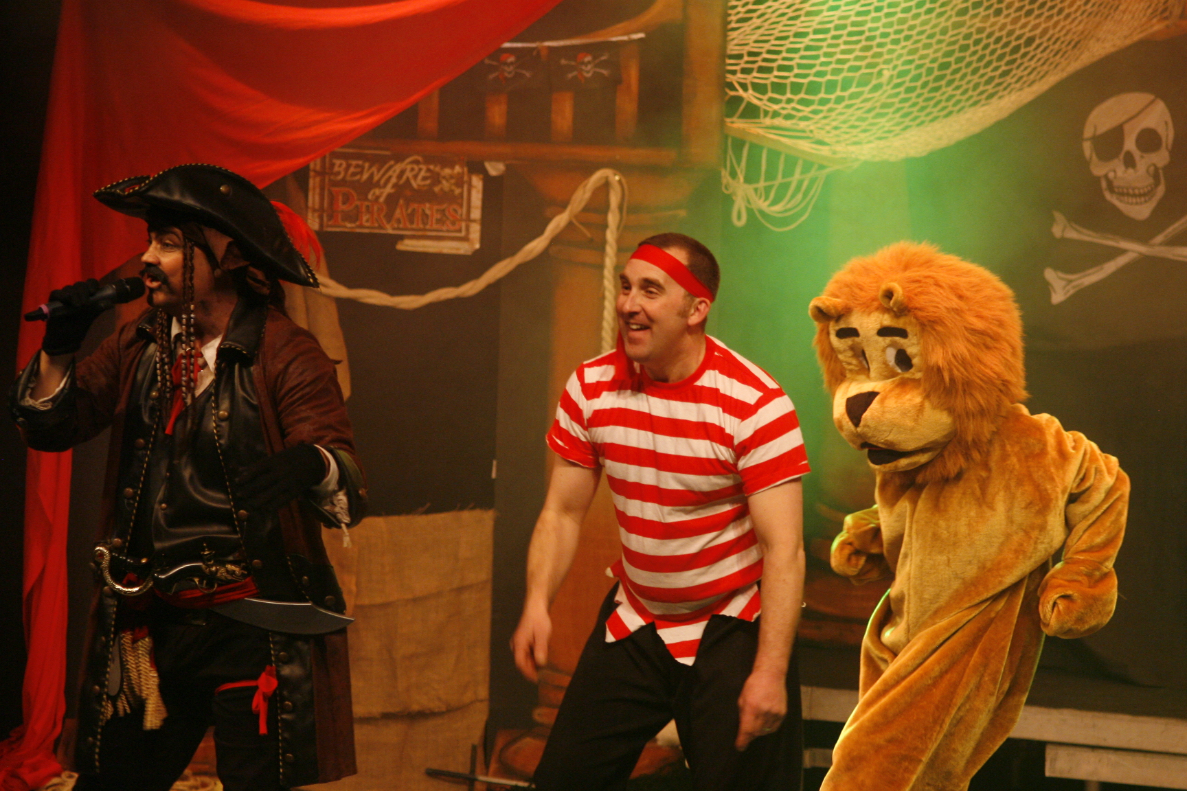 Pirate Adventure Stage Show