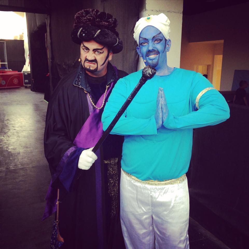 Jafar & Genie Dubai 2015