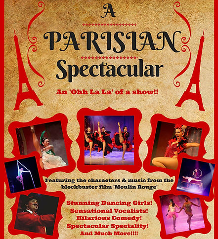 Parisian Spectacular - James & Murphy Productions