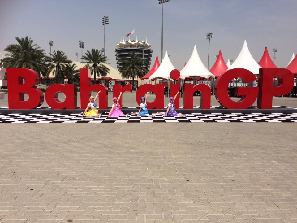 Dance Dollz Bahrain GP 2018