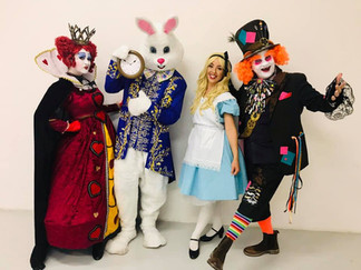 Alice In Wonderland Themed Characters