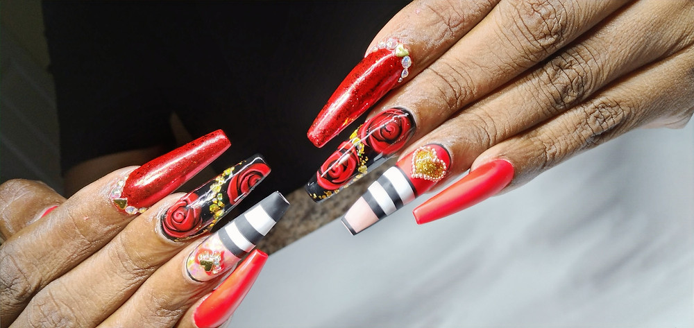 A branded nail....