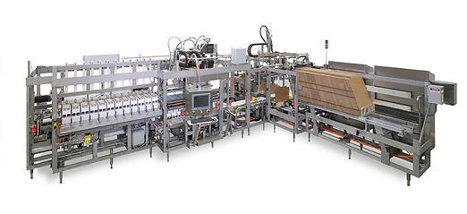 conveyor cartoner case packer