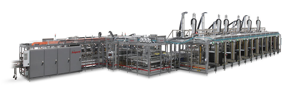 Automated variety case packer