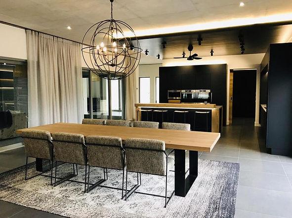 Custom designed furniture