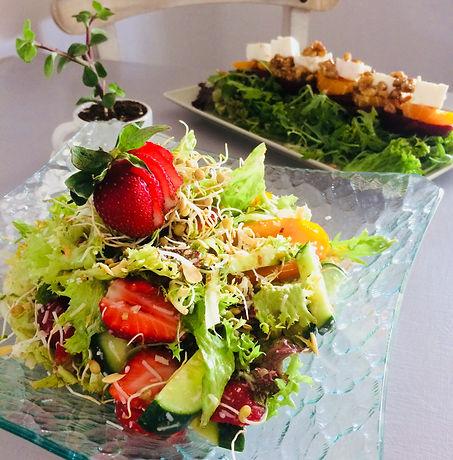 vegetarian, vegan, salads