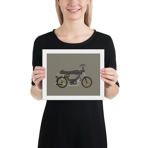 """1987 Motomarina Sebring """"ANGE"""" Framed Print"""