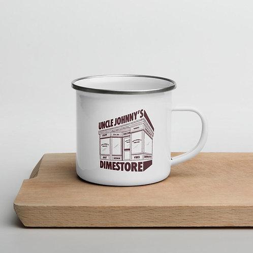 Dimestore Enamel Mug